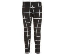 Leggings Hosen square black/white