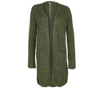 Strickjacke olive