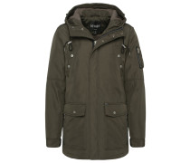 ANSGAR Wintermantel dark olive