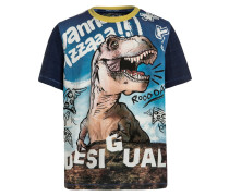 MANU TShirt print twilight blue
