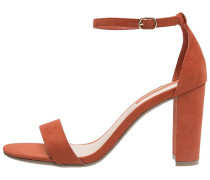 CARSON High Heel Sandaletten orange