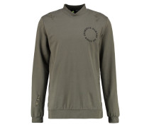 Sweatshirt - olive/multi