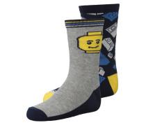 ACE 2PACK Socken dark navy