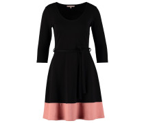 Jerseykleid black/nude