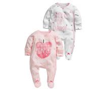 2 PACK Pyjama pink