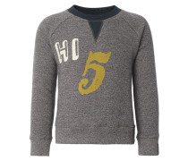 AFFTON Sweatshirt mottled grey