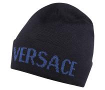 Mütze nero/bluette