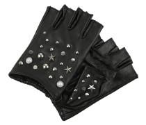 STUDS Kurzfingerhandschuh black