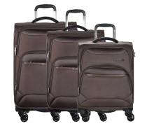 KENDO Kofferset braun