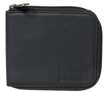 NARIWA/LEATHER Geldbörse black ink leather