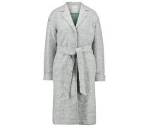 SYLVANA Wollmantel / klassischer Mantel light grey melange