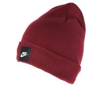 FUTURA Mütze bordeaux/schwarz