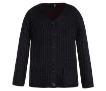 Strickjacke dark blue