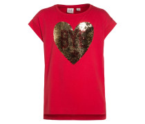 T-Shirt print - pepper red