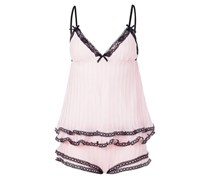 ANAIS Pyjama pink/black