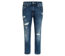 XILO - Jeans Slim Fit - zigzag destroy