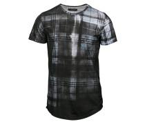 CHECKER TShirt print black