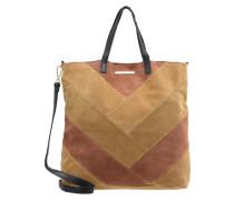 DAY BLOCK Shopping Bag multi camel