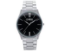 Uhr - silver coloured/black