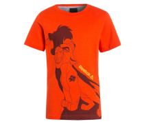 TShirt print bold orange