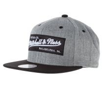 Cap - grey heather/black