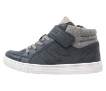 PUNCH HOLE Sneaker high navy blue/light grey
