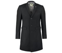 HINTON Wollmantel / klassischer Mantel black