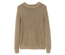 ROUTE - Strickpullover - tobacco brown