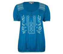 Bluse - turquoise