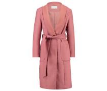 Wollmantel / klassischer Mantel rose
