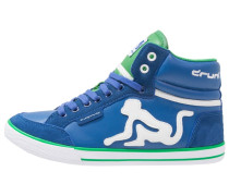 BOSTON CLASSIC Sneaker high royal/green