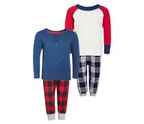 Pyjama red/navy