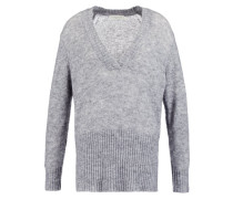 Strickpullover crane grey