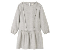 CECI Freizeitkleid light heather grey