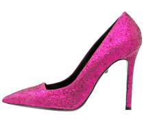 High Heel Pumps magenta glitter
