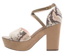 JADA High Heel Sandaletten taupe