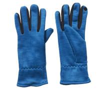 Fingerhandschuh heat unity blue melange/unity blue