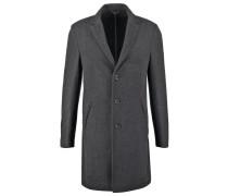 Wollmantel / klassischer Mantel antracite