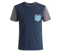 TShirt print navy blazer heather