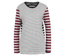 STRIPE Langarmshirt red