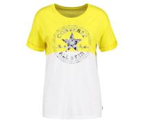 TShirt print fresh yellow