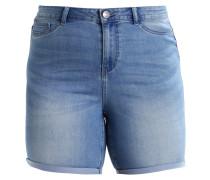 JRQUEEN - Jeans Shorts - medium blue denim