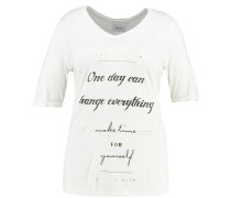 ONE DAY CAN CHANGE EVERYTHING TShirt print vanilla ice