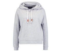 ONLNEW BETTY Kapuzenpullover light grey melange