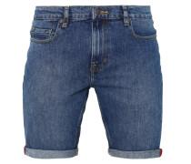 DESOTO - Jeans Shorts - blue denim