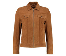 Lederjacke nut brown