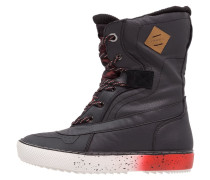 HUCKER FIREWALL Snowboot / Winterstiefel black/fire red