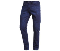 Jeans Tapered Fit deep purple blue