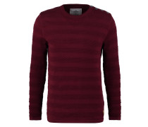 KELD Strickpullover dark red