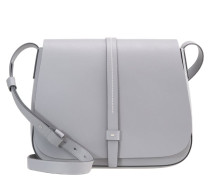 LARGE SADDLE - Umhängetasche - pilot grey